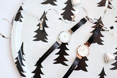 "Gorgeous watches from swedish brand MOCKBERG. Pictured above is ""SIGRID"" and ""ASTRID"".  http://www.reidunbeate.com/2015/12/29/elegante-sigrid-og-astrid-fra-mockberg/"