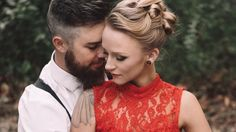Maci Bookout and Taylor McKinney go retro glam for their engagement photo shoot -- see the pics!