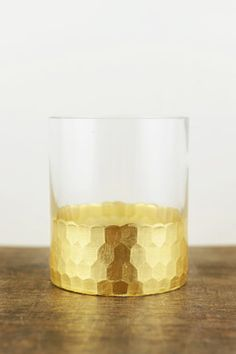 1-Votive//Tealight Candle Holder~Ribbed Sides /& Scalloped Edges On Top~Glass