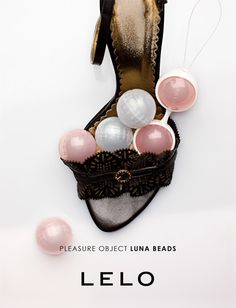 Check out the only pleasure beads available in varying weights, allowing you to choose your own way to experience discreet sensations. Learn more about LUNA Beads at http://www.lelo.com/index.php?collectionName=femme-homme&groupName=LUNA-BEADS