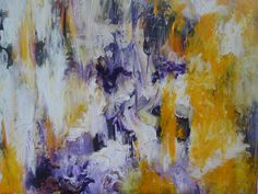 Towards the Sun---acrylic                                abstract painting by augusta