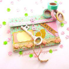 Bi-Fold pocket letter on the Shabby Chic side!*~*~*~*~*