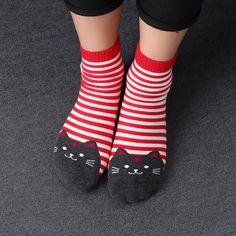 Socks New Real Character Cotton Brand Meias Femininas Warm Cute Cartoon Panda Korean Socks For Women Free Shipping Warm Winter Sokken Superior Performance