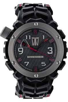 Tire'd Watch Co Rapide Black