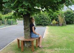 DIY : Réaliser soi-même un banc tout autour d'un arbre