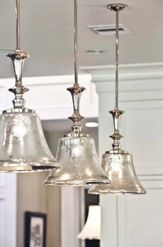 Mercury Glass Pendant Light Fixtures