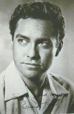 richard todd Male Movie Stars, Classic Movie Stars, Hollywood Photo, Classic Hollywood, Richard Todd, The Twenties, Actors & Actresses, Famous People, Movie Tv