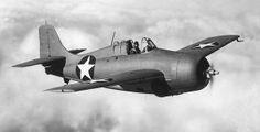 Grumman F4F Wildcat single-seat carrier based fighter