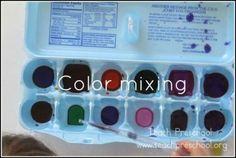 Color mixing by Teach Preschool