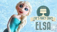 Frozen Elsa cake How to make elsa doll cake disney frozen elsa cake topper tutorial fondant elsa. Elsa cake topper Frozen Cake - Elsa Doll Cake how to make frozen Elsa cake tutorial. In this Disney Frozen cake tutorial I Frozen Cake Tutorial, Doll Cake Tutorial, Cake Topper Tutorial, Disney Frozen Cake, Frozen Theme Cake, Disney Cakes, Frozen Anna Doll, Elsa Doll Cake, Zoes Fancy Cakes
