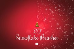 Check out Snowflake brushes by Ivan Rosenberg on Creative Market
