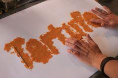 Backstage producción Food Art & Typography