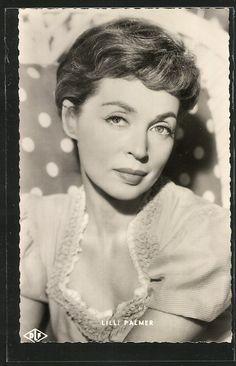 Lilli Palmer (* 24. Mai 1914 in Posen, Preußen; † 27. Januar 1986 in Los Angeles, Kalifornien, Vereinigte Staaten)