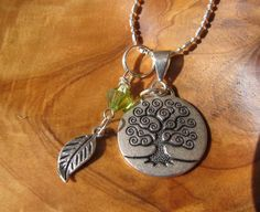 tree of life necklace.  I like the feather with this one!