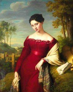Eduard Leybold (1798 - 1847) ..portrait..