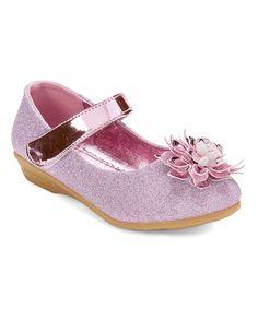 Pink Adora Flower Mary Jane