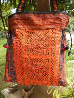 Hmong Hilltribe Vintage Upcycled Bag