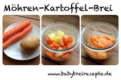 Möhren-Kartoffel-Brei Rezept zum Selbermachen - Babybreirezepte zum Selberkochen.