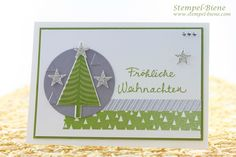 Stampin Up Recklinghauen, Stampin Up Christbaumfestival, Stampin Up Weihnachtskarte, Stampin Up Produkte bestellen, Stampin up Weihnachtskatalog