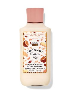 Coconut Lotion, Coconut Cream, Toasted Coconut, Cream Pie, Hand Cream, Body Lotions, Smell Good, Body Wash, Bath And Body Works