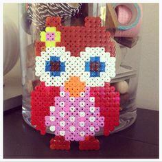 Owl perler bead design by Jojojanneke