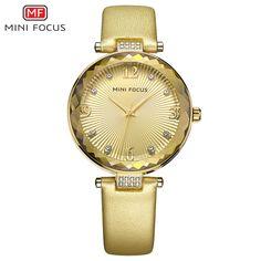 Minifocus Fashion Rose Gold Watch Women 2017 Luxury Brand Whit Diamonds Quartz Woman Watches Bracelet Relogio Feminino Dourado  #Affiliate