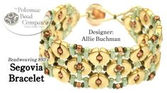 This video tutorial from The Potomac Bead Company features three of the newest beads, and is designed by Potomac Bead Company co-founder Allie Buchman. Find ...