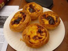 Portuguese egg-custard tarts ... at Margaret's Cafe e Nata in Macau ... (they're delicious!)