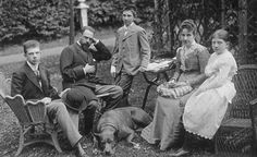 Infanta Paz and her family.