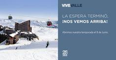 Valle Nevado con muchas novedades, preparada para la apertura prevista el 8 de junio