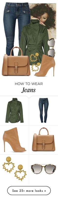 """""""Take It Day By Day"""" by perichaze on Polyvore featuring Koral, Isabel Marant, Tom Ford, Burberry, Casadei and Vintage"""