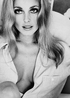 Sharon Tate; what a sexy look and photo and still no ridiculous pushed-up cleavage or photoshopped elbows and earlobes.