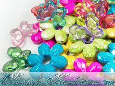 40 Acrylic Butterflies & Flowers . Starting at $5 on Tophatter.com!