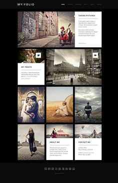 MY FOLIO - Retina Ready WP Photography Theme #wordpress #theme #template #webdesign #website #design #blog #portfolio #flat #flatdesign #photography #gallery #responsive #mobile #flexible #grid