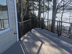 Deck Railing Systems, Deck Railings, Pvc Decking, Steel Deck, Cable Railing, Space Gallery, Deck Stairs, Outdoor Living, Outdoor Decor