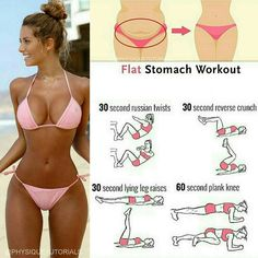 Stomach Workout   Posted By: AdvancedWeightLossTips.com https://www.musclesaurus.com/flat-stomach-exercises/
