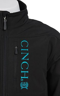 I desperately want this Cinch jacket w/ turquoise!