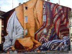 wall art... Textil House Vitoria, Basque Country, ES