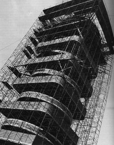 Johnson Wax Tower, Racine, Winsconsin, US (1950)  Frank Lloyd Wright