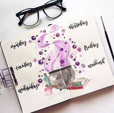 October Bullet Journal Pages to Inspire You Bullet Journal Cover Ideas, Bullet Journal Mood, Bullet Journal Themes, Bullet Journal Spread, Bullet Journal Layout, Bullet Journal Inspiration, Journal Pages, Journal Diary, Bullet Journals
