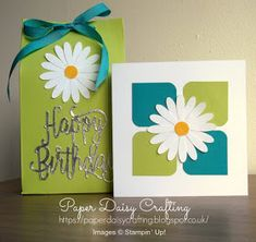 Paper Daisy Crafting: Delightful Daisy week - Day 5 - Video Tutorial with Stampin' Up! products
