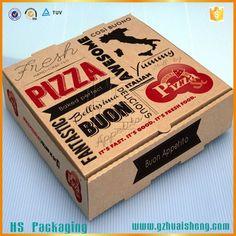 cheap custom micro-flute corrugated pizza box