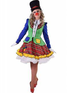 Clown Pipo vrouw Nr.1 in carnavalskleding en feestartikelen. Goedkope carnavalskleding en carnavalskostuums online bestellen. Snelle levering van jouw carnavals