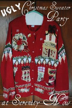 Serenity Now: How to Throw an Ugly Christmas Sweater Party
