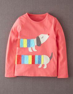 I've spotted this @BodenClothing Big Appliqué T-shirt Radish Sausage Dog