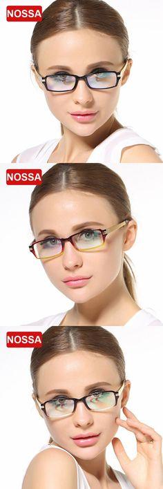 NOSSA Women Men Trendy Vintage Metal Glasses Frame Prescription Eyewear Frame Optical Glasses Eyewear