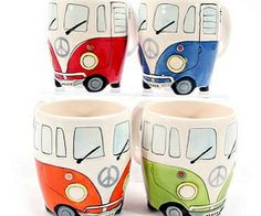 VW Campervan Mugs