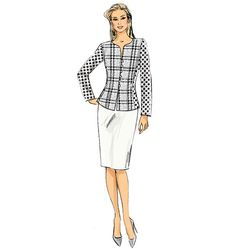 Pattern Reviews> Vogue Patterns> 9093 (Misses' Jacket, Skirt and Pants)