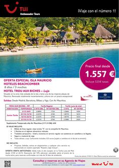 Oferta Isla Mauricio estancia hotel Trou Aux Biches. Precio final desde 1.557€ - http://zocotours.com/oferta-isla-mauricio-estancia-hotel-trou-aux-biches-precio-final-desde-1-557e-2/