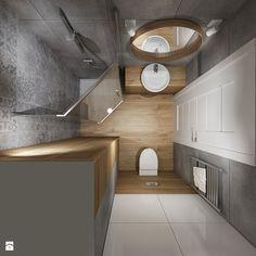 Mała łazienka 1 - Łazienka, styl tradycyjny - zdjęcie od All Design Agnieszka Lorenc